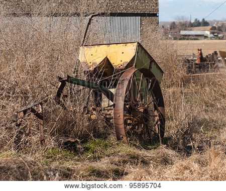 Old farm equipment
