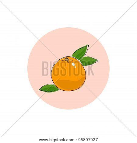 Icon Colorful Grapefruit