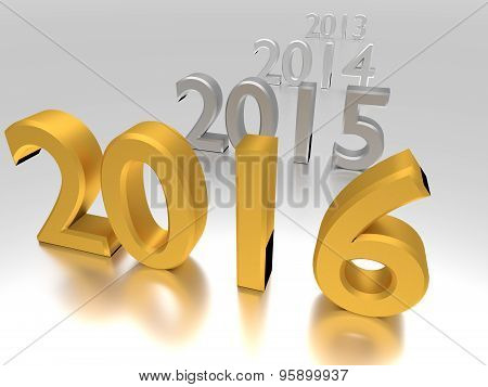 2016 Year Near Others