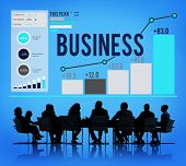 stock photo of enterprise  - Business Startup Corporate Enterprise Company Concept - JPG