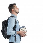 image of objectives  - Confident student studying to achieve the objectives - JPG