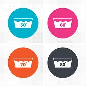 picture of 50s 60s  - Circle buttons - JPG