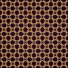 picture of hypnotic  - Abstract seamless hypnotic swirl dark pattern background - JPG