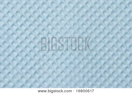 Blue absorbent paper background