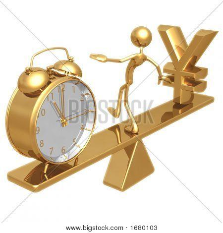 Balancing Time And Yen