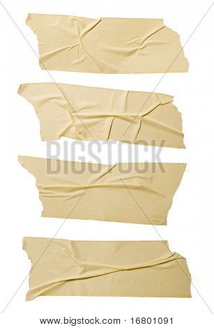 Masking tape, hi-res, saved with detail clipping path.