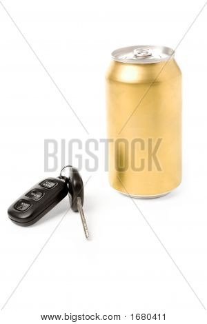 Beer And Car Key