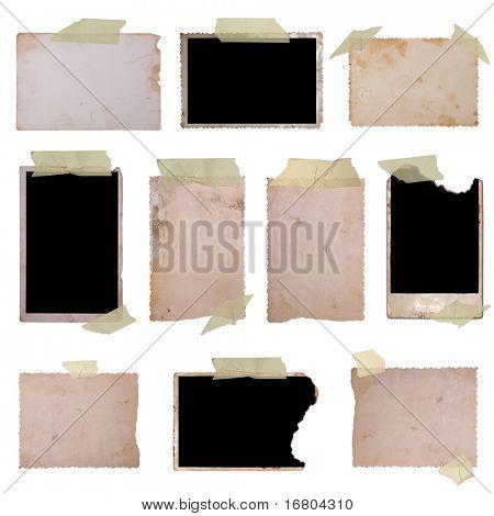Vintage photo frames set 2, big collection