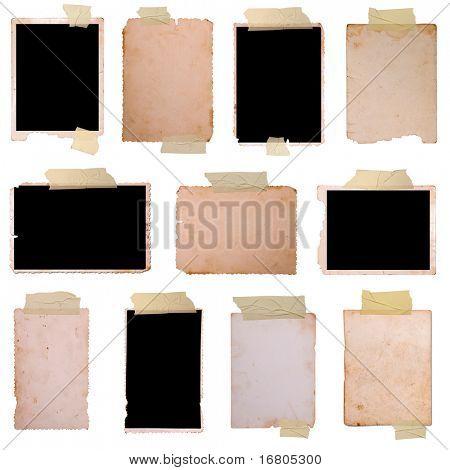 Conjunto de marcos de foto de época 3, gran colección