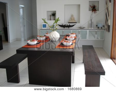 Open Plan Dining Table