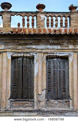 Abandoned old house.