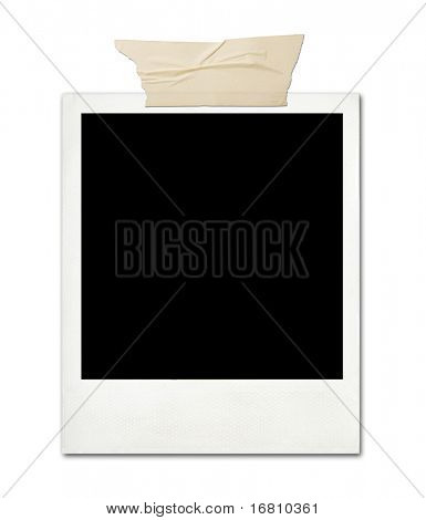 Blank card with soft shadow, hi-res
