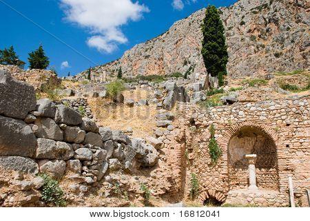Delphi museum. Greece