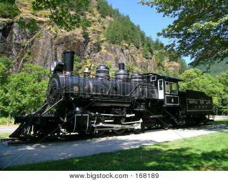 Steam Locomotive,old Number Six
