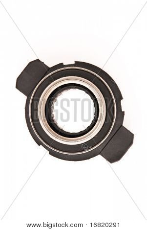 Car engine clutch. Isolated on white background.