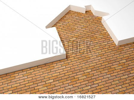 metaphor brick house
