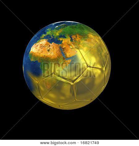 gold world of soccer