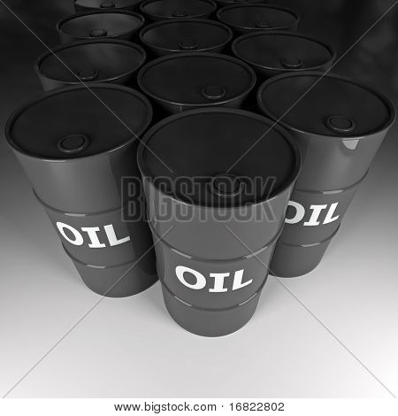 fine image 3d of oil barrel background
