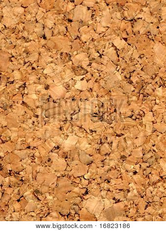 fine closeup image of cork texture background