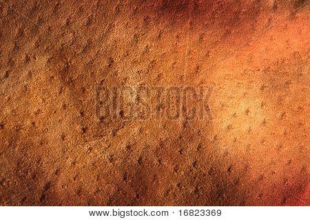 imagen fina destrozada del antiguo fondo de cuero