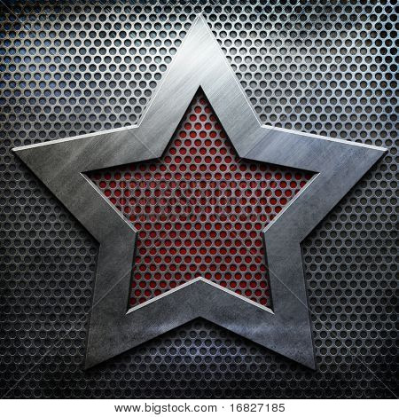 metal star background template (big pack)