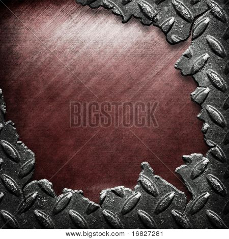 crack pattern of metal background(big templates pack)