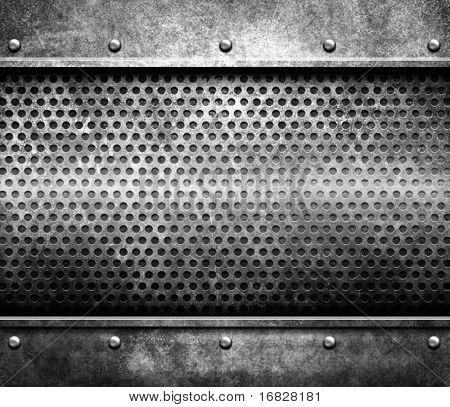grunge metal template