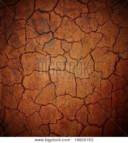 grunge cracked background