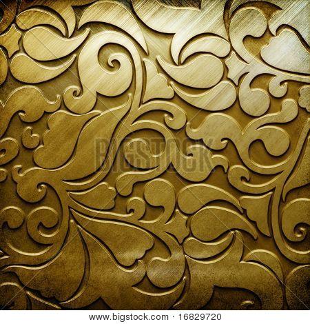 Fondo de metal (colección de oro)