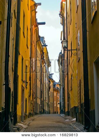 street of old town, Stockholm