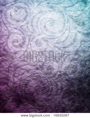 grunge background with shabby floral ornament