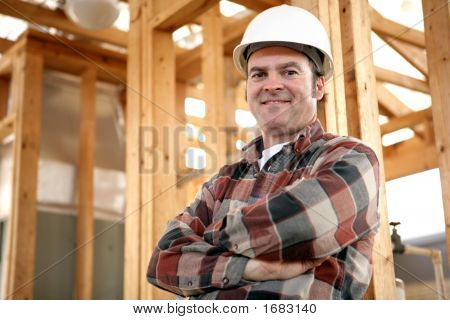 Authentic Construction Worker