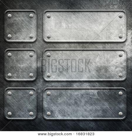 Metallkonstruktion Hintergrund (große Vorlagenpaket)