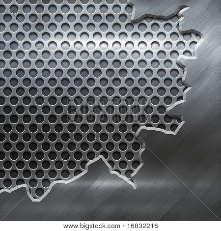 construcción del metal pulido crack (gran templates pack)