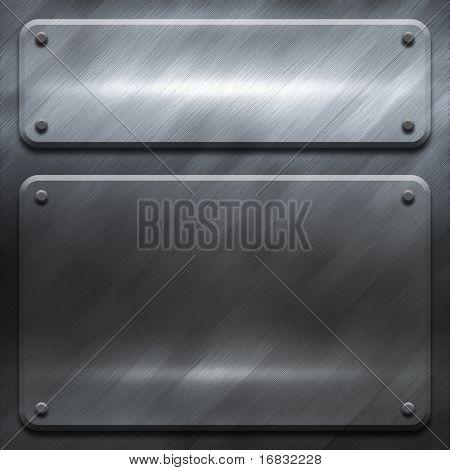construção de metal polida (pacote de modelos de grande)