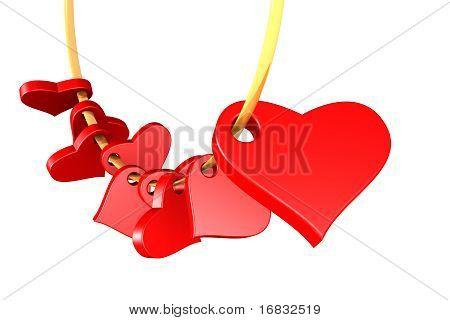 Guirnalda de corazones!