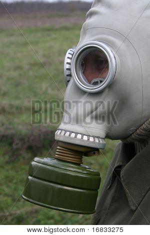 Gas mask profile