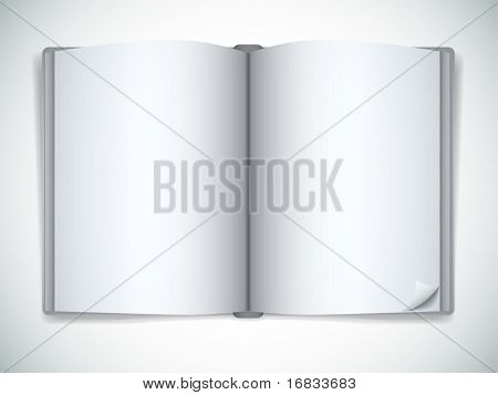 Open vector book
