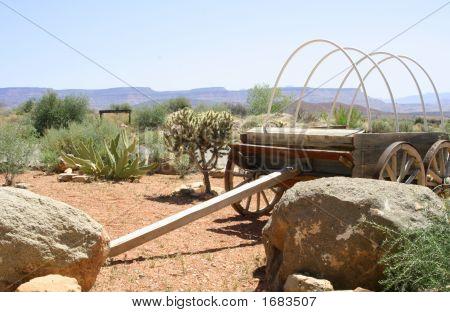 Vintage Western Wagon