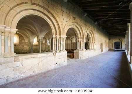 Corridor of a cloister