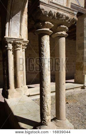 Columns of a cloister