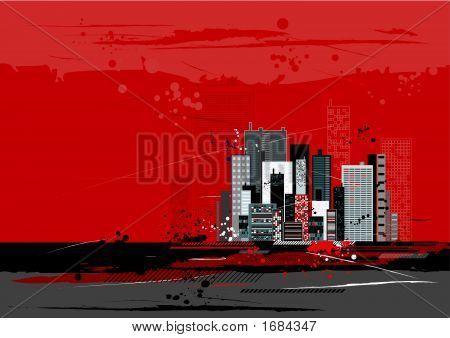 Urban Scene, Vector