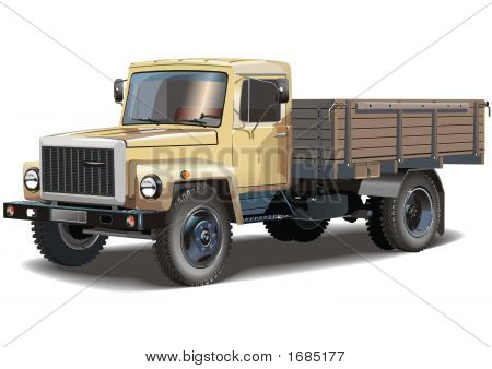 Typical Russian Lorry
