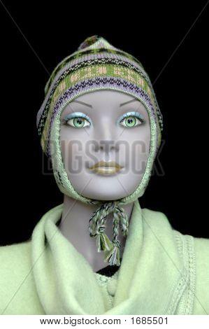 Mannequin Showing Alpaca Hat
