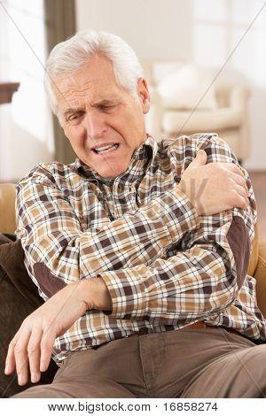 Senior Man Suffering Cardiac Arrest At Home