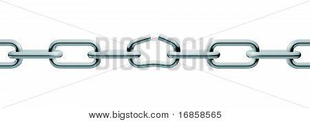 Silver Unlink Chain