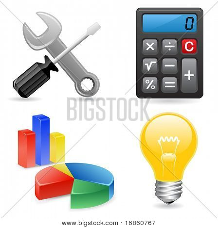 tools icons for website