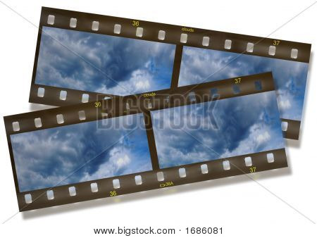 Panoramic Film Frame