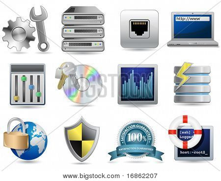 Universal-Icon-Set - Webhosting