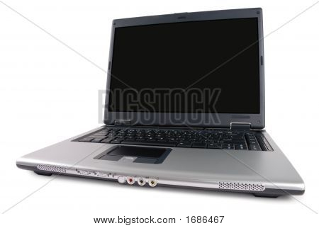 Angled Laptop